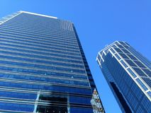 Wolkenkrabber Bedrijfsbureau, de Stadscentrum van Calgary, Royalty-vrije Stock Foto's