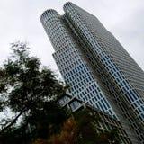 Wolkenkrabber in Berlijn Stock Foto's