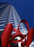 Wolkenkrabber, Dallas. Stock Afbeelding