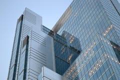 Wolkenkrabber, de bureaubouw Royalty-vrije Stock Foto's