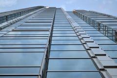 Wolkenkrabber, de bureaubouw Royalty-vrije Stock Fotografie