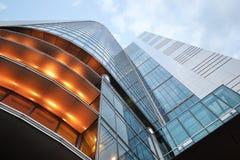 Wolkenkrabber, de bureaubouw Stock Foto's
