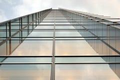 Wolkenkrabber, de bureaubouw Stock Afbeeldingen