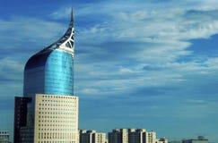 Wolkenkrabber in Djakarta Indonesië Stock Foto