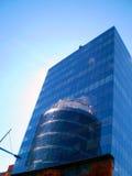 Wolkenkrabber Dnepropetrovsk Stock Foto
