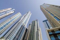 Wolkenkrabber in Doubai Royalty-vrije Stock Foto