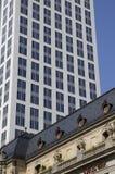 Wolkenkrabber in Frankfurt Royalty-vrije Stock Afbeeldingen