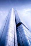 Wolkenkrabber in Frankfurt Stock Afbeelding