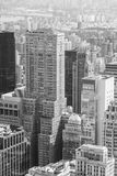 Wolkenkrabber in Manhattan Stock Foto