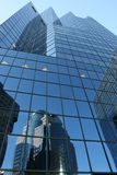 Wolkenkrabber in Montreal royalty-vrije stock afbeeldingen