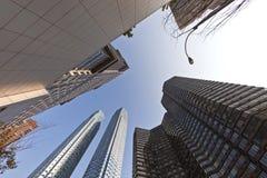 Wolkenkrabber in New York Stock Foto