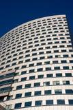 Wolkenkrabber over blauwe hemel Royalty-vrije Stock Foto