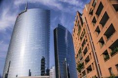 wolkenkrabber in Porta Nuova in Milaan, Italië Stock Foto's