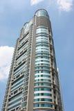 Wolkenkrabber in Shanghai Stock Afbeelding