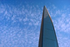 Wolkenkrabber in Shanghai Royalty-vrije Stock Afbeeldingen