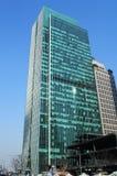 Wolkenkrabber in Shanghai Stock Fotografie