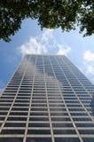 Wolkenkrabber van New York royalty-vrije stock fotografie