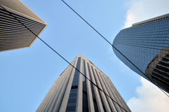 Wolkenkrabber van San Francisco, Californië Stock Fotografie