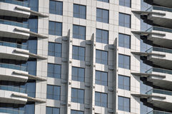 Wolkenkrabberdetail Stock Foto