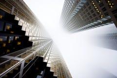 Wolkenkrabbers stock foto's