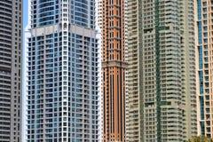 Wolkenkrabbers Stock Afbeeldingen