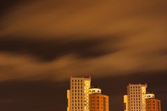 Wolkenkrabbers Royalty-vrije Stock Foto
