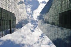 Wolkenkrabbers Royalty-vrije Stock Afbeelding
