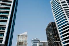 Wolkenkrabbers in Auckland Royalty-vrije Stock Afbeelding