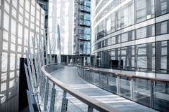 Wolkenkrabbers bij het financiële district van de stad van Parijs stock foto