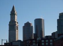 Wolkenkrabbers in Boston Royalty-vrije Stock Foto