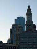 Wolkenkrabbers Boston van de binnenstad Stock Afbeelding
