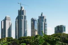 Wolkenkrabbers in Buenos aires Stock Afbeeldingen