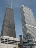 Wolkenkrabbers in Chicago royalty-vrije stock afbeeldingen