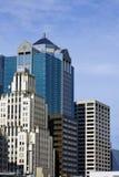 Wolkenkrabbers in de Stad van Kansas Royalty-vrije Stock Foto's