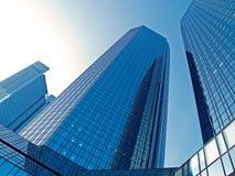 Wolkenkrabbers in Frankfurt Royalty-vrije Stock Foto