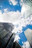 Wolkenkrabbers, het vierkant van Canada Stock Afbeelding