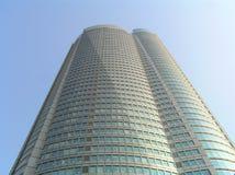 Wolkenkrabbers - Heuvels Roppongi Stock Foto's