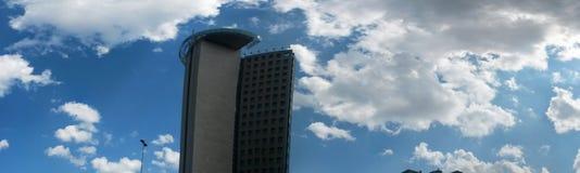 Wolkenkrabbers in Istanboel Stock Afbeelding