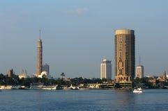Wolkenkrabbers in Kaïro Royalty-vrije Stock Afbeelding