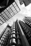 Wolkenkrabbers in Londen Stock Foto's