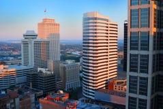 Wolkenkrabbers in Nashville Stock Foto's
