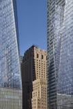 Wolkenkrabbers - New York Stock Foto's