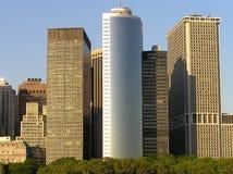 Wolkenkrabbers in New York Stock Fotografie
