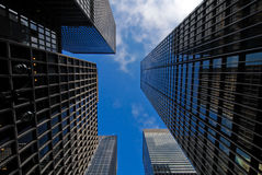 Wolkenkrabbers NYC Stock Foto