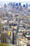 Wolkenkrabbers NYC Royalty-vrije Stock Foto's