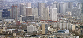 Wolkenkrabbers in Parijs Royalty-vrije Stock Fotografie