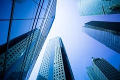 Wolkenkrabbers in Shanghai China Royalty-vrije Stock Afbeelding