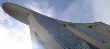 Wolkenkrabbers in Singapore Stock Foto