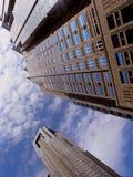 Wolkenkrabbers. Tokyo Royalty-vrije Stock Foto's