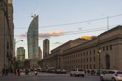 Wolkenkrabbers in Toronto Stock Afbeelding
